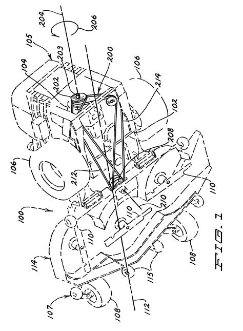 country clipper belt diagram patent us6651413 belt mule drive apparatus and
