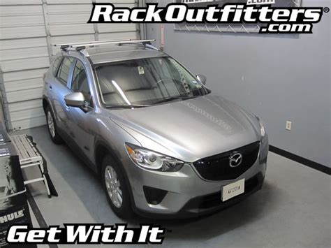 2014 Mazda Cx 5 Roof Rack by Mazda Cx 5 Thule Rapid Crossroad Aeroblade Base Roof Rack