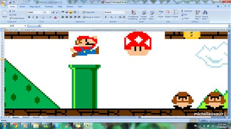 excel pattern works 10 incredible works of art made in microsoft excel