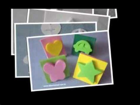 como hacer figuras de fomi sellos de fomi youtube