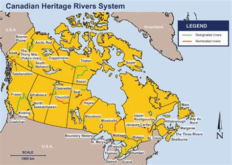 canadian map rivers environment and climate change canada water rivers