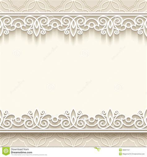 How To Make Lace Paper - 9 best images of lace borders for paper lace border