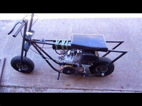 doodle bug mini bike build diy mini bike 6 5hp no governor versi on the spot