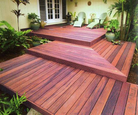 Tiger Deck by Decking Option Tiger Wood