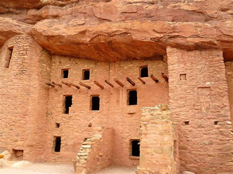 native american dwellings quot pueblo cliff dwellings manitou springs colorado quot by