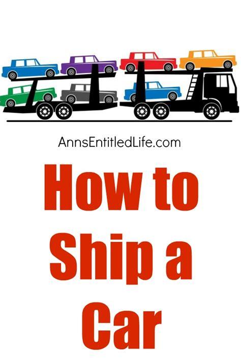 ship your car how to ship a car