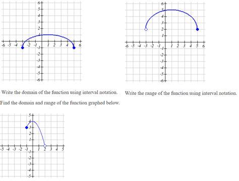 solved find  domain  range   function graphed