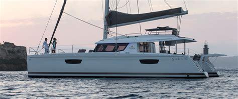 catamaran boat catamarans sailboat saba 50 fountaine pajot