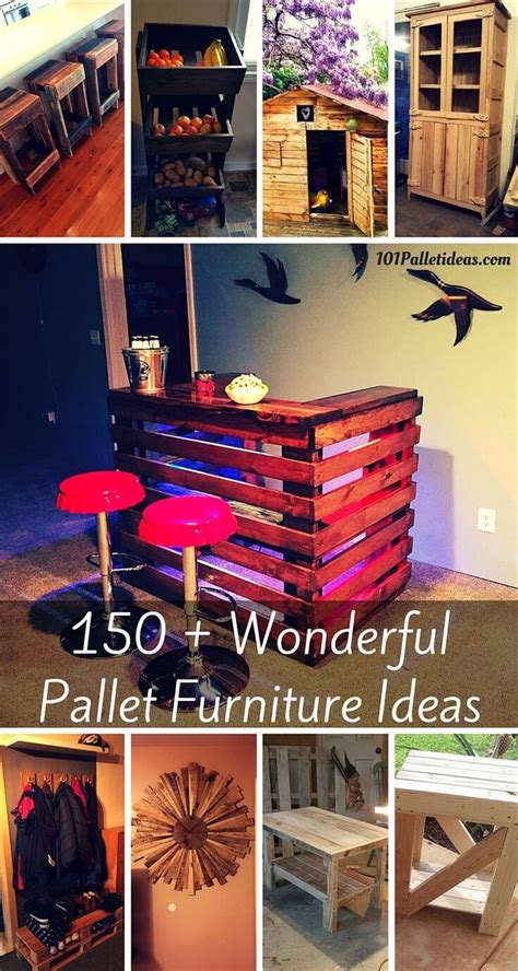 150 wonderful pallet furniture ideas page 3 of 16 101
