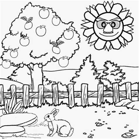 Scenery Coloring Pages scenery coloring pages az coloring pages