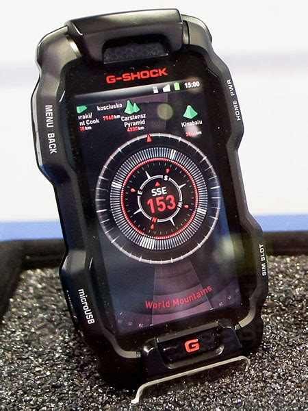 Jam Tangan Sporty Casio G Shock Galaxy X2016 casio showcases rugged android g shock smartphone gsmarena news