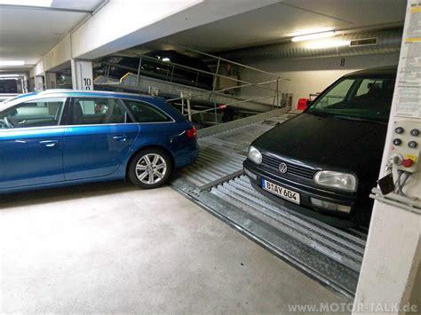 passt der  combi  eine doppelparkerduplex garage