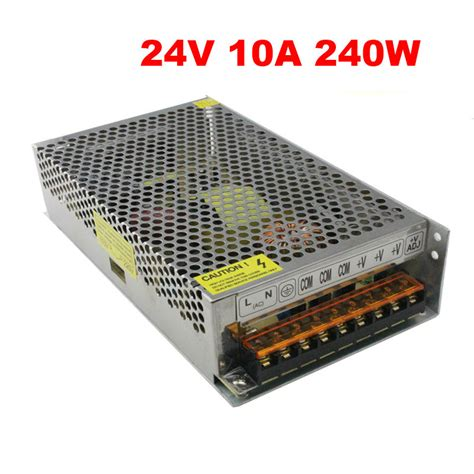 Switching Power Supply 24 V 2 A 24v 240w switching power supply 24 volt 24v 10a 240w led driver dc24v aluminum 110v 220v to 24v