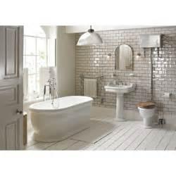 On Suite Bathrooms by Heritage Bathrooms Victoria Bathroom Suite In White