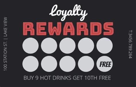 loyalty card design template free loyalty cards and loyalty card program design by design wizard