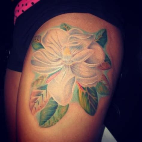 tattoo addiction my parents wedding flower was magnolia and i would