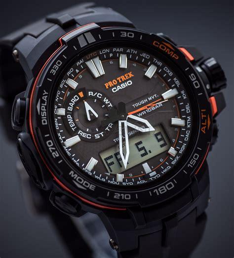 casio pro trek prw 6000y 1 watches