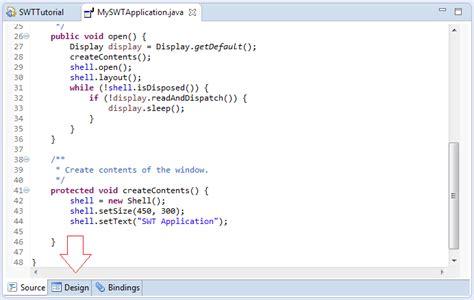 java pattern provider java desktop application programming using swt