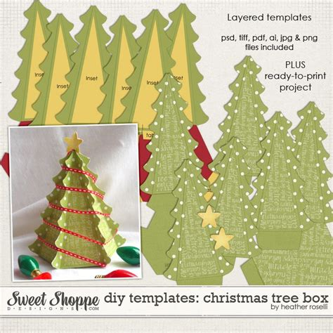 printable christmas tree box template 17 best images about paper boxes on pinterest paper box