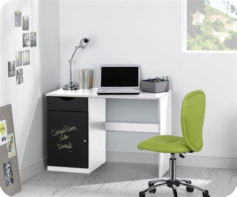 bureau enfant iléo blanc et bureau enfant cargo blanc mobilier ecologique et gain de place