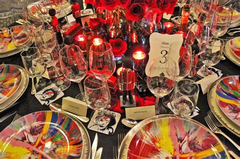 Designer Created To Raise Money For Citymeals On Wheels by Designers Create Fantastical Tablescapes To Raise Money