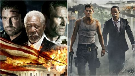 white house down vs olympus has fallen similar movies released at the same time