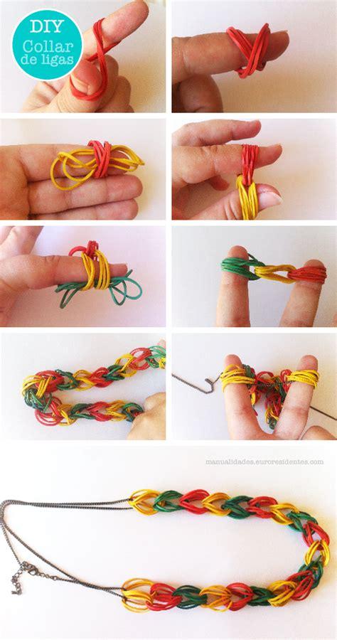 cara membuat gelang pria dari tali sepatu dengan mudah cara membuat kalung dari tali atau karet kerajinan tangan