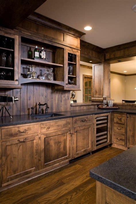wet kitchen cabinet wet bar cabinets home bar traditional with mini fridge classic