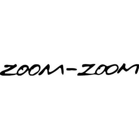 mazda zoom zoom the zoom zoom factor my rivendell