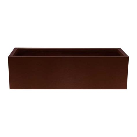 4 Foot Planter Box kiel or montserrat low profile planter box 3 ft 4 ft pots planters more