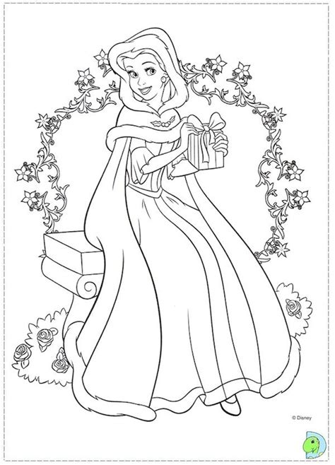 princess maze coloring page free christmas disney princess coloring pages christmas