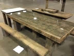 tische aus altem holz barn wood picnic table picnic tables