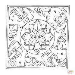 elephant mandala coloring pages for adults elephant mandala coloring pages for adults coloring pages
