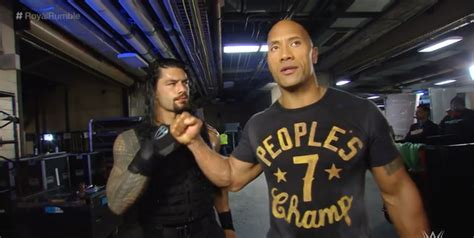 rock and roman reigns is wwe taking too much risk with roman reigns