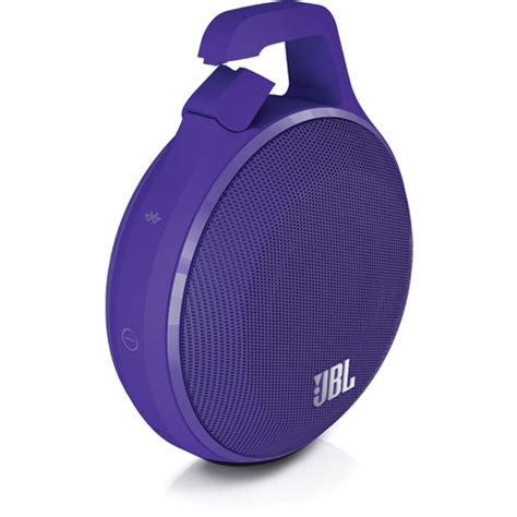Jbl Clip Splashproof Portbale Blietooth Speaker jbl jblclippuram clip portable bluetooth splashproof