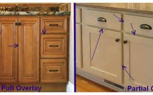 Kitchen Cabinet Overlay by Shopping For Cabinets Here Are Some Terms To Be Farmiliar