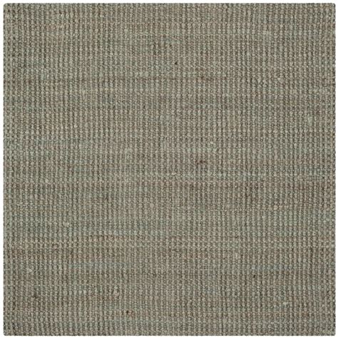 5 x 5 square rug safavieh fiber gray 5 ft x 5 ft square area rug nf730b 5sq the home depot