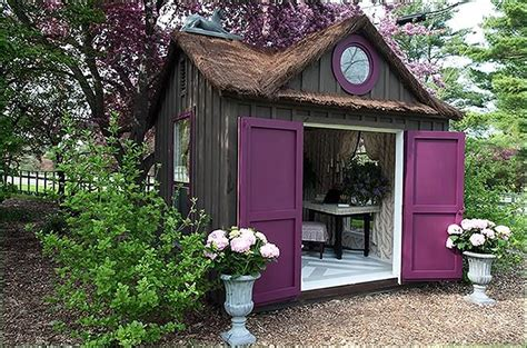 move aside man caves she sheds are here to stay women are going crazy for she sheds