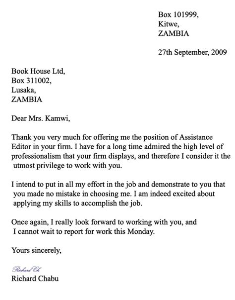 Thank You Letter To Esl Formal Thank You Letter Thank You Letter Exles For A Variety Of Work Employment