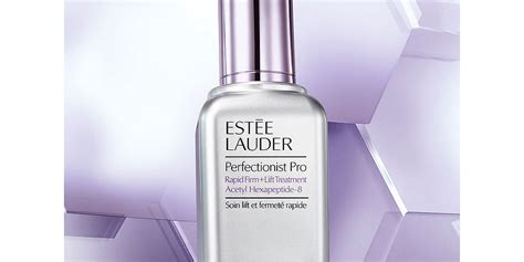 Product Review Estee Lauder Perfectionist Peelpro by Est 233 E Lauder Introduces Perfectionist Pro Rapid Firm