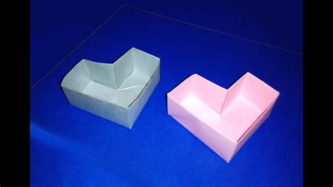 Easy Origami Heart Box Forlentines Day Great  Ee  Ideas Ee