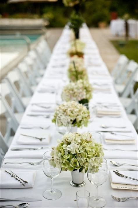 Hydrangea Decor by Hydrangeas Wedding Table Decor Someday Prince Will Come Pi