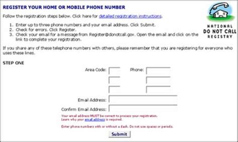 national do not call list for cell phones national do not call registry an eclectic mind