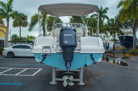 used cobia walkaround boats for sale used 2004 cobia 210 wac walkaround boat for sale in west