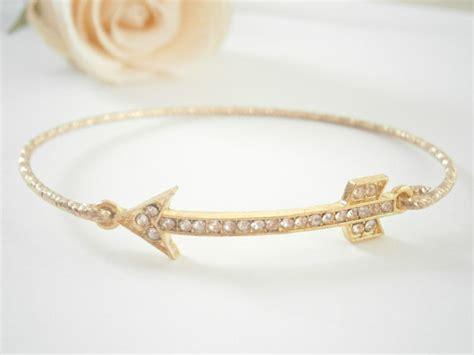 14 rhinestone arrow bracelet photo credit etsy shop