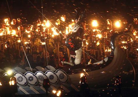 viking longboat on fire stunning pics how to set a viking boat on fire rediff
