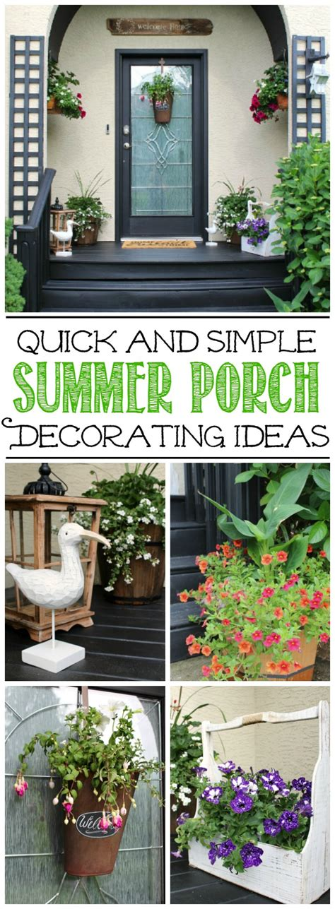 summer decorating ideas summer front porch decorating ideas clean and scentsible