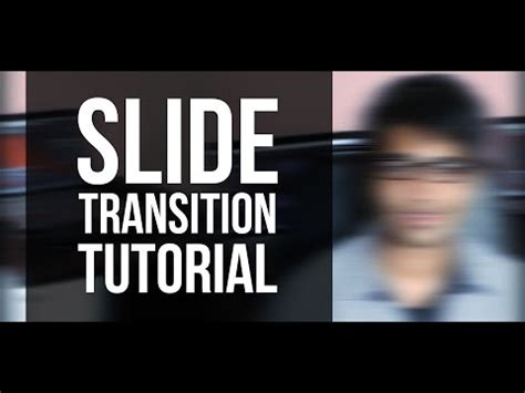 tutorial slide type effect slide screen transition after effects tutorial perfect