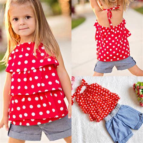 Set Denim Polka 1 2016 summer set sling chiffon shirt polka dot
