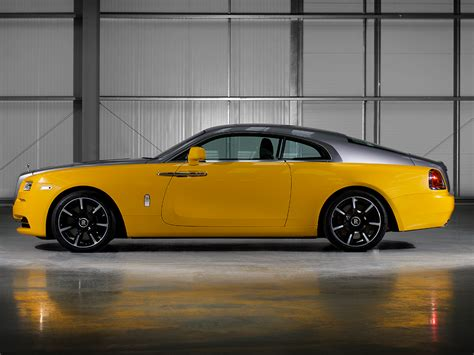 roll royce yellow the yellow rolls royce reborn in bespoke wraith carscoops